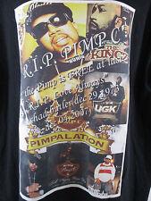 Pimp C 1973 - 2007 Custom Black T-Shirt Brand New RARE RIP Pimp C UGK Sz XL TALL