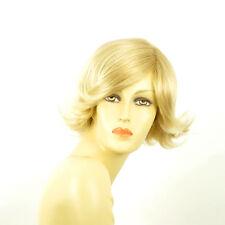 Perruque femme courte blond doré méché blond très clair  MARION 24BT613