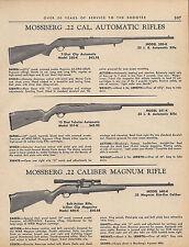 1966 Mossberg Model 350-K, 351-K, 640-K .22 Rifle Ad