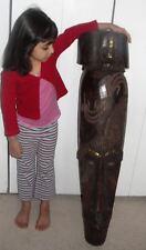 FANG NGIL BEST MASK STATUE MUSEUM AFRICA GOBON AFRICAN ANTIQUE ART FIGURE BIG 42