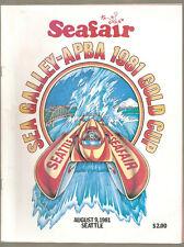1981 Sea Galley-APBA Gold Cup Race Program