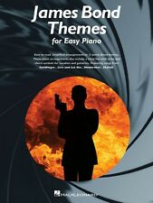 James Bond Themes Sheet Music Easy Piano SongBook NEW 014042825