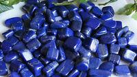 Lapis lazuli reiki healing hand polished mineral specimen 1/2 LB   from afgh