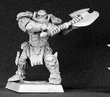 Varaug Orc Warlord Reven Reaper Miniatures Fighter Warrior Barbarian Melee Axe
