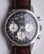 BREITLING TOP TIME 24 hours stainless steel 38mm ref 810-24 VENUS 178 mint cond
