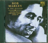 Bob Marley And The Wailers - The Very Best Of The Early Years 68-74 Cd Perfetto
