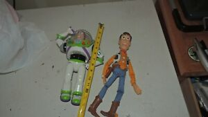 3 VINTAGE DISNEY TOY STORY WOODY PULL-STRING AND BUZZ LIGHTYEAR Great Condition!