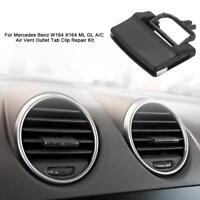 Car A/C Air Vent Outlet Tab Clip Repair Kit for Mercedes Benz W164 X164 ML GL