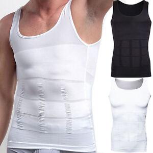 Men Shaper Body Vest Slim Chest Belly Waist For Man Boobs Moobs COMPRESSION HOT