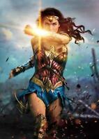 WONDER WOMAN MOVIE POSTER DC Wall Art Pic Photo Print Poster A4 A3