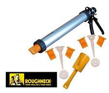 Roughneck ROU32100 ladrillo Mortero inyección de Puntería Pistola & AZULEJO & Boquillas De Repuesto