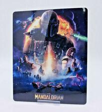 THE MANDALORIAN - Glossy Fridge / Bluray Steelbook Magnet Cover (NOT LENTICULAR)