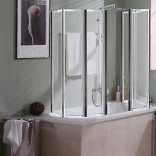 Relativ Duschabtrennungen aus Glas mit Badewannenfaltwand günstig kaufen IY58