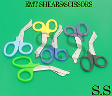 6 DIFFERENT COLOR EMT PARAMEDIC SHEARS/SCISSORS 7.25""
