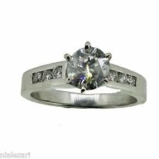 1.03 CT Round Cut Diamond Solitair Engagement Ring G Color Si2 Clarity Natural
