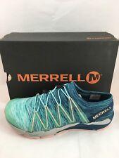 Merrell WOMEN'S BARE ACCESS FLEX KNIT Runner Shoes Aqua Size 9.5