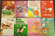 Lot 8 Beginner Books Titles Seuss
