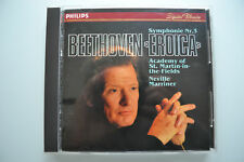 Beethoven: eroica-Marriner-CD PHILIPS FULL SILVER NO IFPI 1983 West Germany