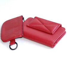 MANDARINA Duck Knock business en cuir porte-monnaie rubis rouge