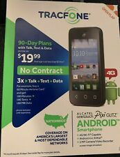 Tracfone Alcatel Onetouch Pixi Glitz 4G Android Smartphone Prepaid A463BG