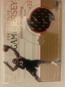 1999-00 Upper Deck Alonzo Mourning  UD Game Jersey CENTURY CLUB 95/100 RARE