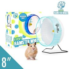Hamster Wheel 8� Pet Comfort Exercise Wheel Large and Easy Attach to Wire Cage f