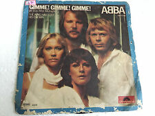 ABBA KING HAS LOST HIS CROWN/GIMME GIMME ps 45 rare SINGLE INDIA Vg++