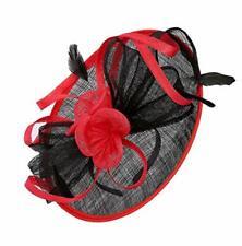 Felizhouse Sinamay Fascinators Wedding Hats for Women Royal Ascot Cocktail Party