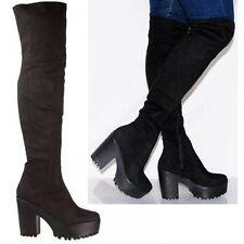 Block Pull on Unbranded Over Knee Women's Boots