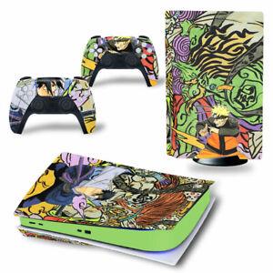 Naruto Anime Manga Sony PS5 Playstation 5 Skin Aufkleber folie Sticker PVC