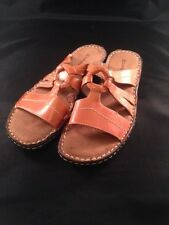 NEW - Natural Soul by Naturalizer Ceria Slip-On Sandals  Size 7 Brown Slides
