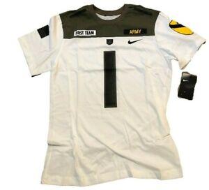 NWT New #1 Army Black Knights Nike 1st Cavalry XXL Football Jersey T-Shirt