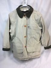 LL Bean Barn Coat Field Jacket w/ Button-out Primaloft Lining Womens Size Medium