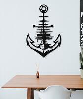 Metal Wall Art Decor- Anchors Metal Wall Art Sculpture -US Navy Decor Wall Panel