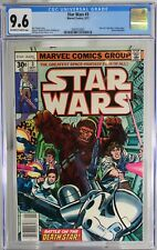 """STAR WARS # 3 - CGC 9.6 - (GF) - Part 3 of the """"SW: A New Hope"""" film adaptation."""