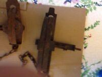 vintage animal trap traps