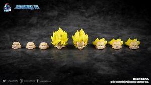 Demoniacal Fit Possessed Horse Solid Color Hair Super Saiyan Yellow Goku Vegeta