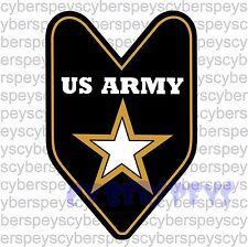 US Army Stickers Car Vinyl Decals JDM