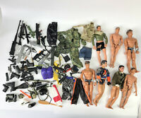 "1990s 12"" Action Man Figure Doll Weapons Accessories GI Joe M&C Formative Lot 14"