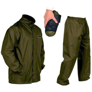 Vass Waterproof Breathable Light Weight 2 Piece Set Jacket & Trousers New