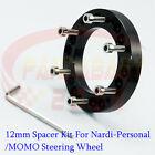 For Nardi Personalompmomo 12 12mm Steering Wheel 6lug Hub Spacer Adapter Kit