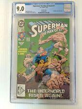 Superman Man of Steel #17 2nd print CGC 9.0 VFNM LOW PRINT RUN Doomsday NEW CASE