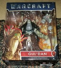 NEW 2016 World Of Warcraft Movie GUL'DAN Action Figure Guldan with Staff 6-inch