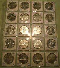 CANADIAN DOLLAR SET 1949~1967+1939~20 COINS!!
