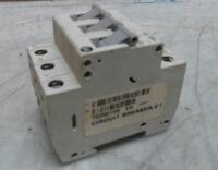 Allen Bradley 3 Pole Circuit Breaker, # 1492-SP3C020, 2 A, Ser C, Used, Warranty