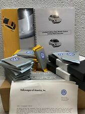 2000 VW New Beetle Ltd Edition Dealer Kit Brochure Cards Reflex Vapor RARE