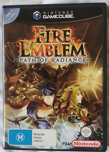 PAL Fire Emblem Path of Radiance Gamecube  AS NEW Manual, Disk and Box COMPLETE
