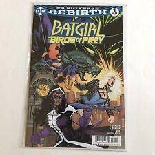 Batgirl and Birds Of Prey 1 DC Comics 2016 Rebirth NM - Huntress Black Canary