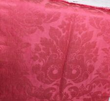"""Rare Never Used 18thC French Silk Frame Textile Fabric Panel~1yd7""""Lx21""""W~Home"""