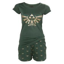 Nintendo Legend of Zelda Hyrule Royal Crest Shortama Nightwear Set Extra Large